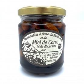 Miel aux amandes Corse -...